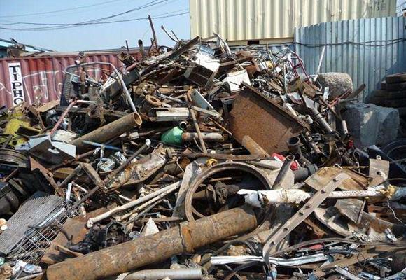 报废工程机械回收案例