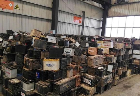 废旧蓄电池回收